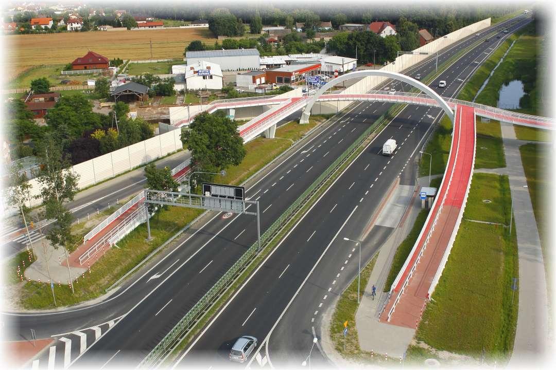 """Rozbudowa dwujezdniowej drogi krajowej S-11 """"Krzesiny"""" - Kórnik"""